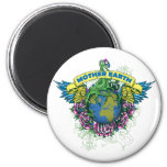 Mother Earth Fridge Magnets