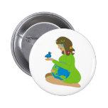 Mother Earth (Gaia) Button