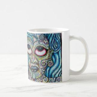 Mother Earth Goddess Dreadlocked Queen Mug