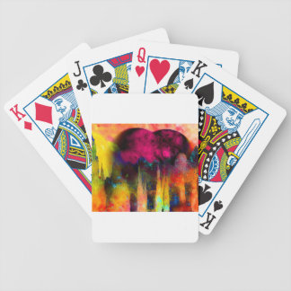Mother Earth in Pink Bicycle Playing Cards