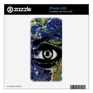 Mother Earth iPhone 4S Skins