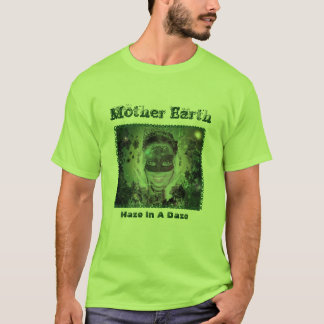 Mother Earth Lime Mens T-Shirt