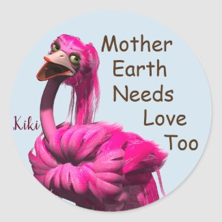 Mother Earth Love stickers