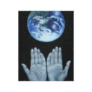 Mother Earth, nature appreciation earth day canvas