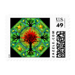 Mother Earth Night Postage