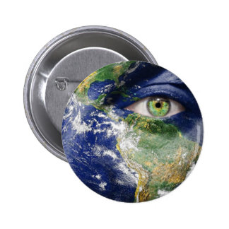 Mother Earth Pinback Button
