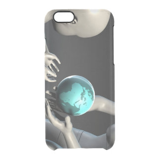 Mother Earth Providing To Her Children as Concept Clear iPhone 6/6S Case
