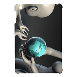 Mother Earth Providing To Her Children as Concept Cover For The iPad Mini