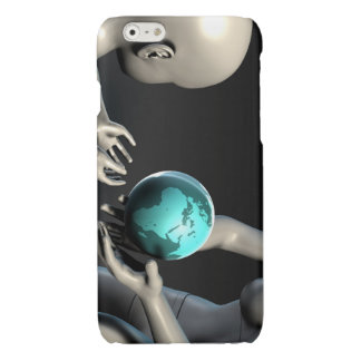 Mother Earth Providing To Her Children as Concept Glossy iPhone 6 Case