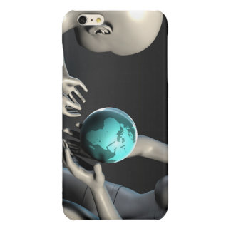 Mother Earth Providing To Her Children as Concept Glossy iPhone 6 Plus Case