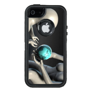 Mother Earth Providing To Her Children as Concept OtterBox Defender iPhone Case