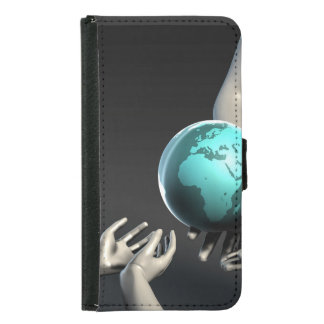 Mother Earth Providing To Her Children as Concept Wallet Phone Case For Samsung Galaxy S5