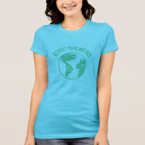 Mother Earth scoop neck shirt