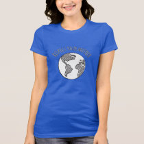 Mother Earth scoop neck shirt womens
