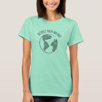 Mother Earth shirt womens