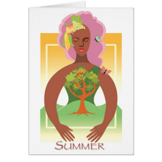 Mother Earth- Summer Card