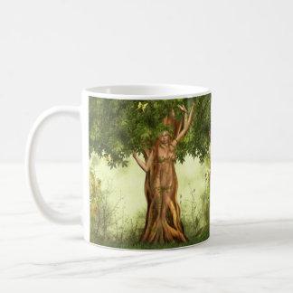 Mother Earth Tree Basic White Mug