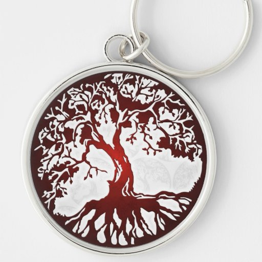 Mother Earth Tree of Life Premium Keychain