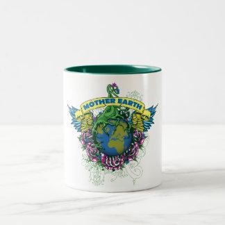 Mother Earth Two-Tone Coffee Mug