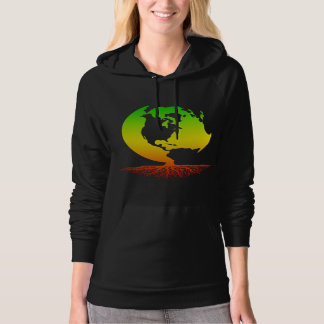 Mother Earth with Roots (rasta style) Hoodie