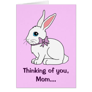 Mother Easter Bunny Greeting Card