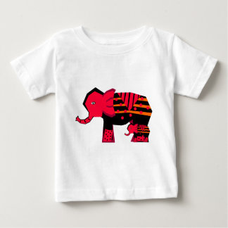 Mother Elephant with Child Baby T-Shirt