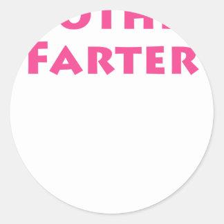 Mother Farter Classic Round Sticker