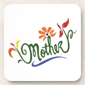 MOTHER FLOWERS DRINK COASTER