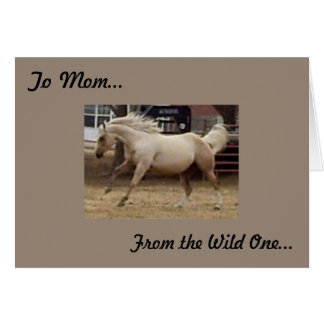 Mother - From the Wild One Greeting Cards