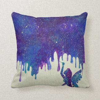 Mother Galaxy Throw Pillow