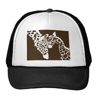 Mother Giraffe and Baby Hats