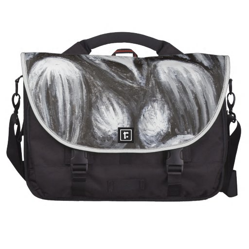 Mother Goddess (Black and white surrealism ) Laptop Computer Bag