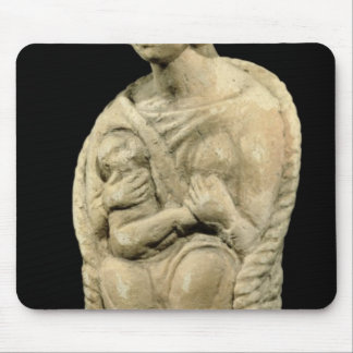 Mother goddess, from Macon, Burgundy Mouse Pad