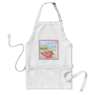 Mother Goose Adult Apron