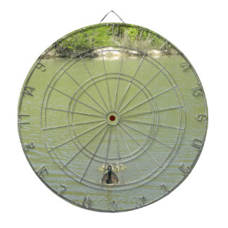 Mother Goose and her Babies Dartboard
