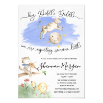Mother Goose Baby Shower Invitation