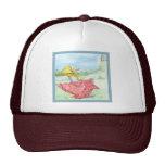 Mother Goose_BlueFrame Mesh Hat