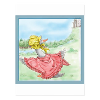 Mother Goose_BlueFrame Postcard