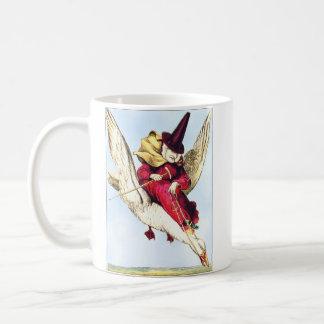 Mother Goose Classic White Coffee Mug