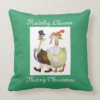 Mother Goose Father Gander Pillow