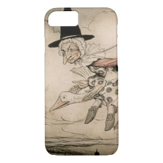 Mother Goose, frontispiece of 'Mother Goose The Ol iPhone 7 Case