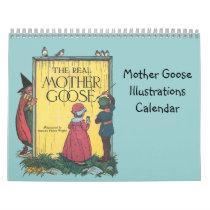 Mother Goose Illustrations Calendar