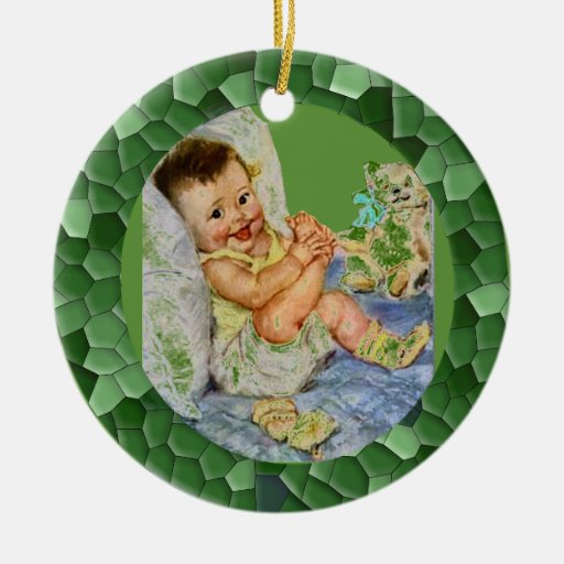 Mother Goose - Photo ornament