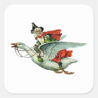 Mother Goose - Vintage Illustration Stickers