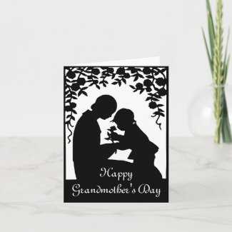 Mother/Grandmother & Child Notecard card