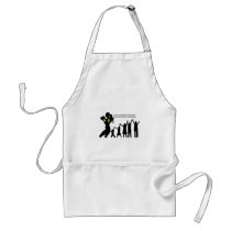 Mother Has To Fight For Her Kids Adult Apron
