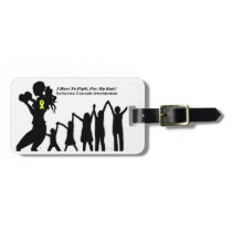 Mother Has To Fight For Her Kids Luggage Tag