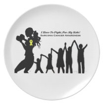 Mother Has To Fight For Her Kids Plate