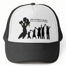 Mother Has To Fight For Her Kids Trucker Hat