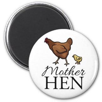 Mother Hen 2 Inch Round Magnet